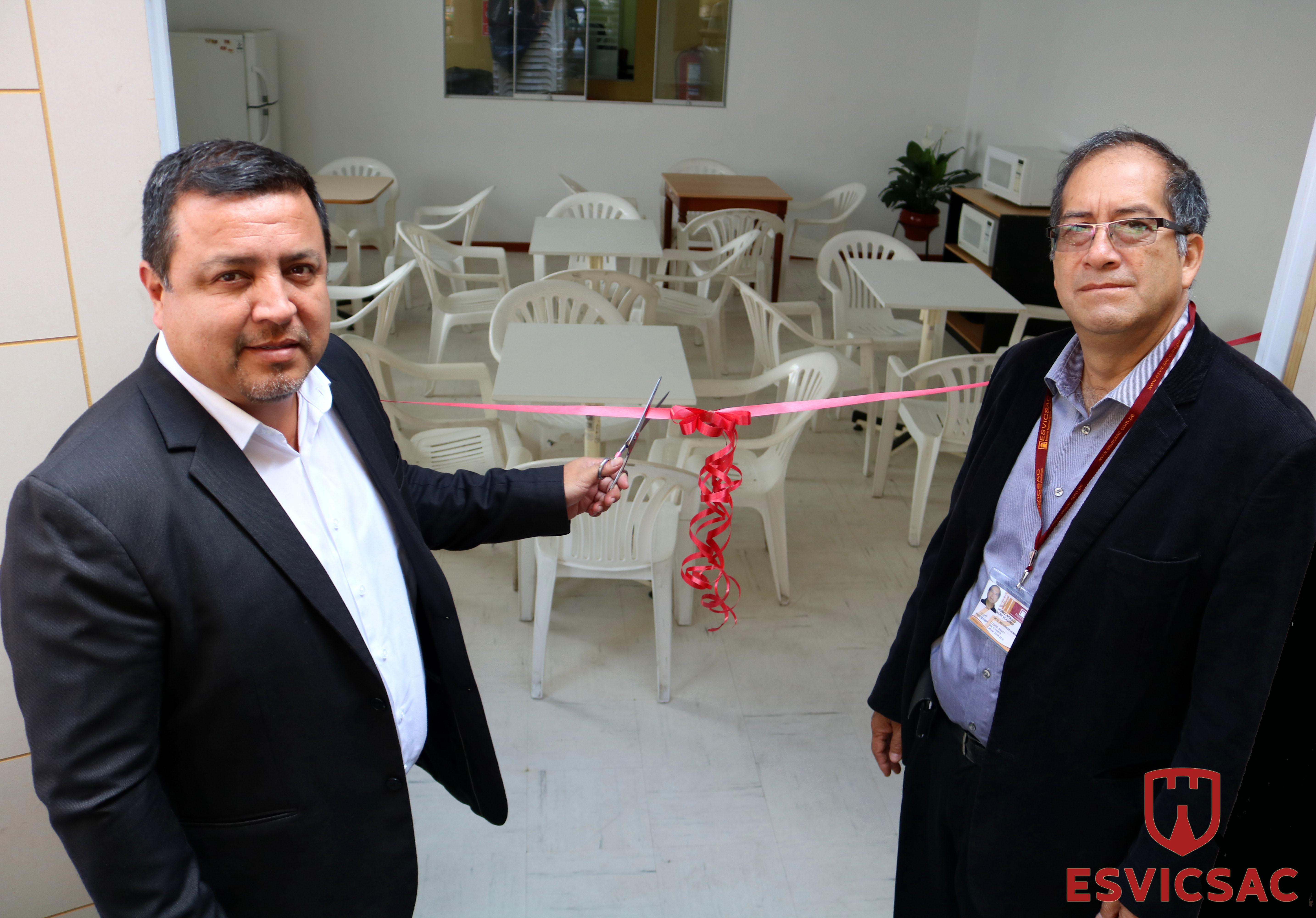 7d7a36a7ca6e07 ESVICSAC inaugura nuevo comedor